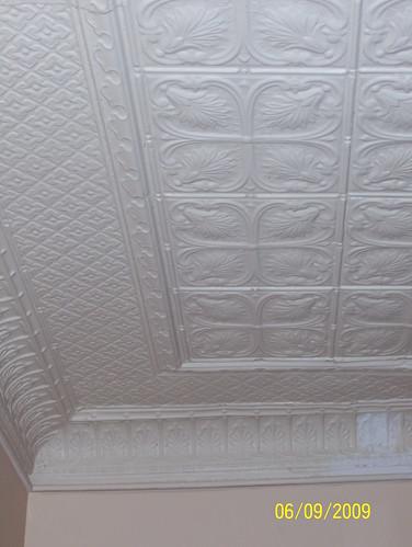 tin ceiling repair