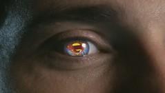 costume in eye