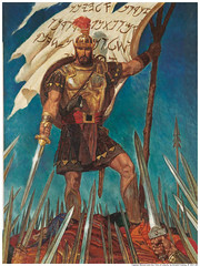 Captain Moroni Raises Title Liberty Mormon