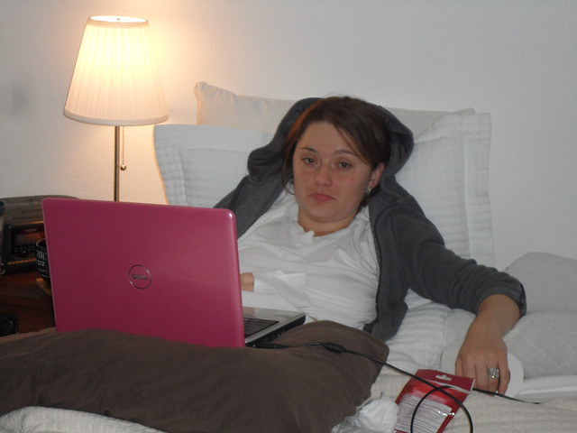 Bronchitis 2010... As Glam As It Looks