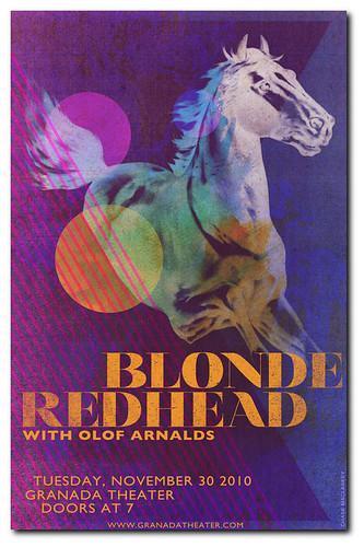Blonde Redhead at Granada Theatre
