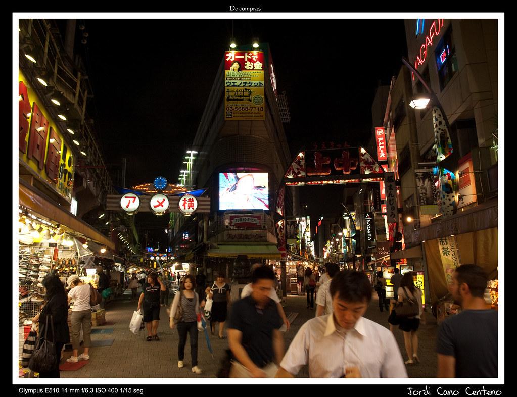 De compras por Tokyo