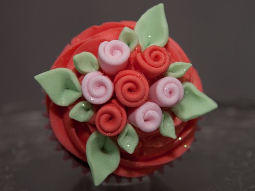 Valentine's Bouquet Cupcake from Cirencester Cupcakes