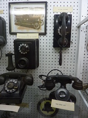 Old Telephones and assorted equipment