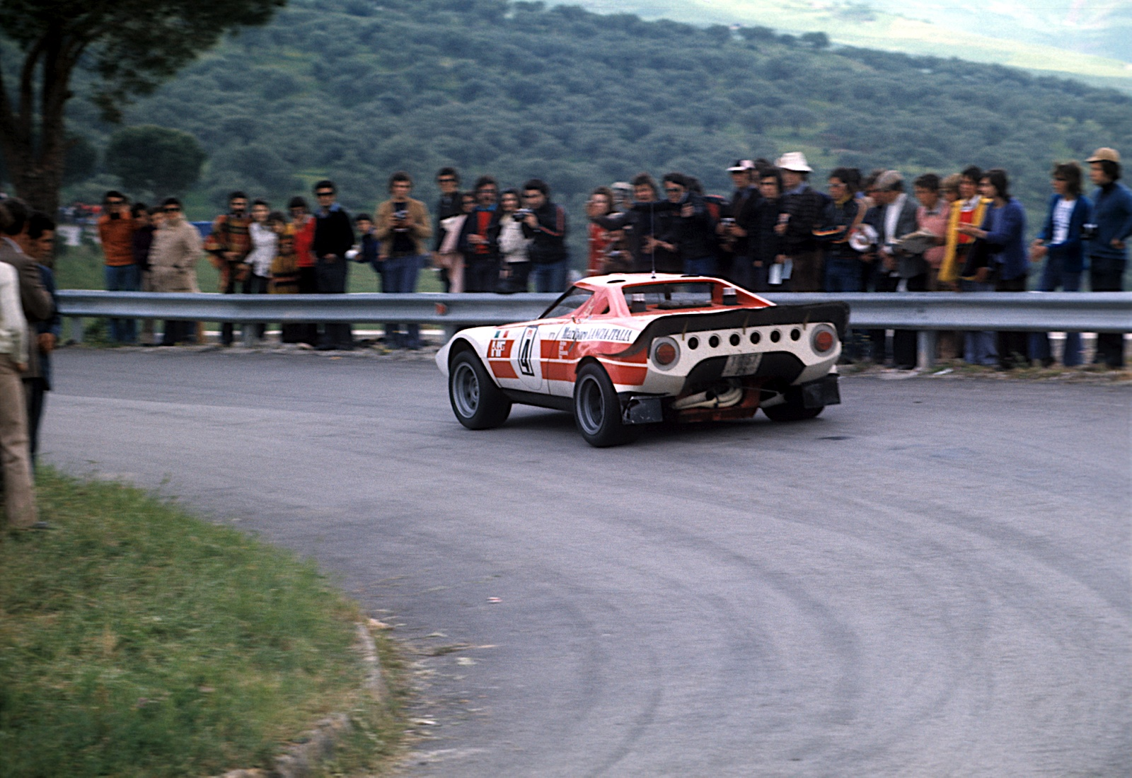 Morning qualifying stratos edition hooniverse the stratos piloted by sandro munari and jean claude andruet finished 2nd overall in the 1973 targa florio vanachro Images