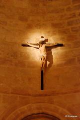 El Cristo Crucificado preside la Iglesia de San Andrés.