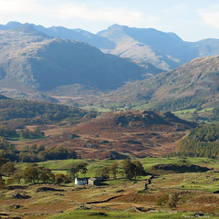 Crinkle Crags, Bowfell and Little Langdale, Th...