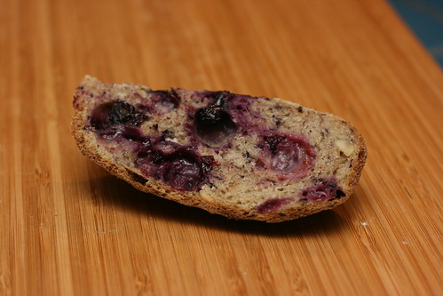 Blueberry Hazelnut Bread
