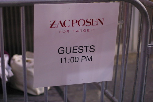 Zac Posen for Target: 24 Hour Shopping Party 28