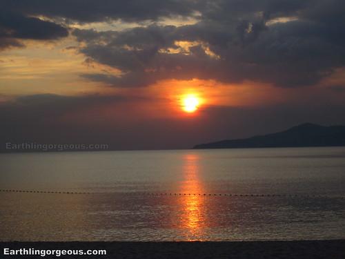 anvaya cove sunset shot