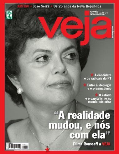 Dilma - Capa da Veja