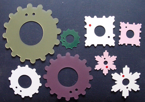 Hamanaka Flower Motif Cards