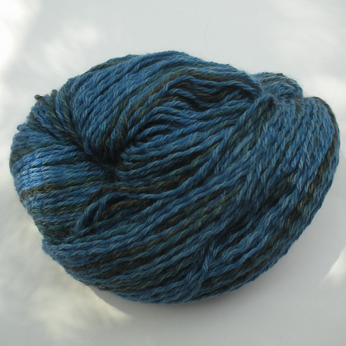 Brooks Farm Yarn Riata blue and green