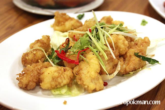 Fried Salt n Pepper Squid