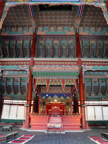 Temple in Gyeongbokgung Palace