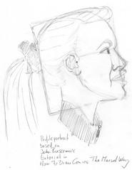 Buscema tutorial portrait # 2 for 2010-10-13