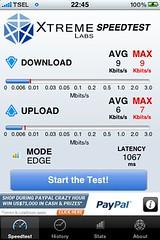 Telkomsel Flash Speed Test in Lhokseumawe, Aceh