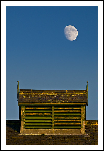 Moon over Hoults Yard - 342/365 by Paul J White.