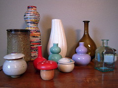 Vase and jar collection