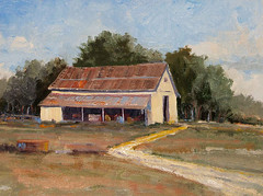 Old Barn - 9x12
