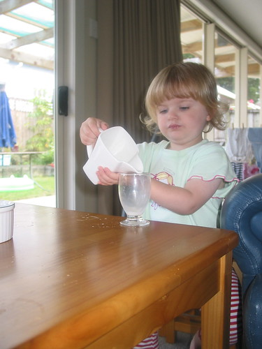 Pouring Milk - I