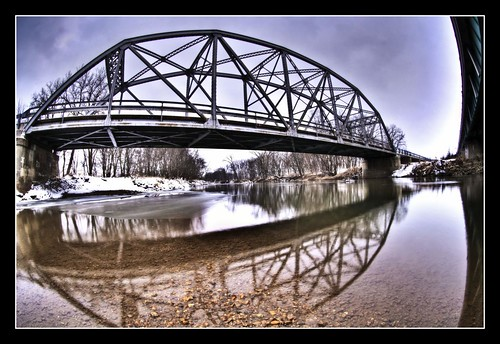 Mack Bridge in Grey