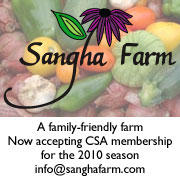 Sangha Farm in Ashfield, MA