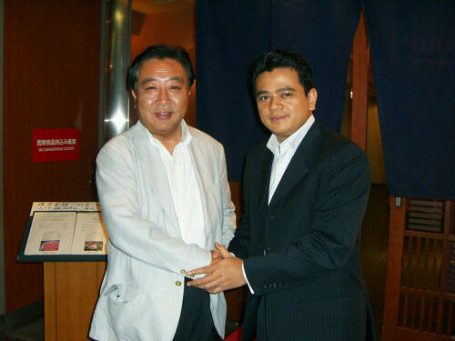 PM Jepang - Yoshihiko Noda dan Poempida Hidayatulloh
