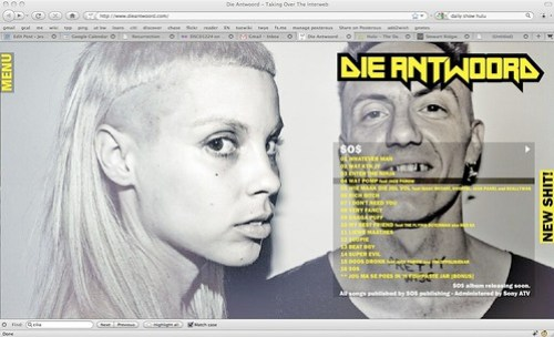 Die Antwoord - Taking Over The Interweb
