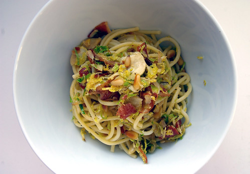 Pasta with Brussels Sprouts and Pancetta I
