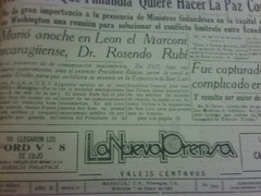 Su muerte 1942 - Periodico La Nueva Prensa by pepescas, on Flickr