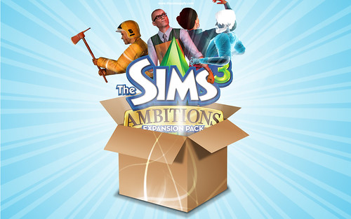 3/24/10 - 7 wallpapers of The Sims 3 Ambitions from The Sim Supply