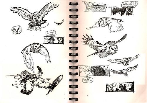 Frozen Tears - Sketchbook 001