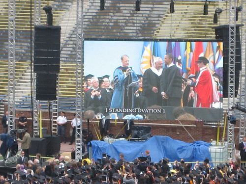 President Barack Obama University of Michigan Commencement 2010