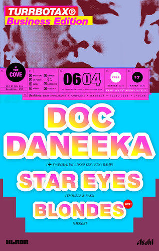 TURRBOTAX® June 2009 Doc Daneeka Star Eyes Blondes Brooklyn XLR8R