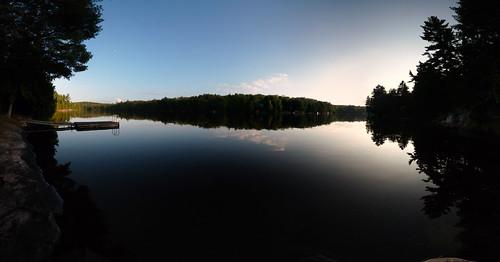 Cottage Lake Dusk by Roger's Eye