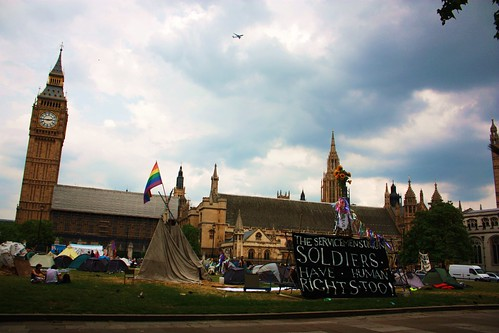 Peace Camp in Parliament Square