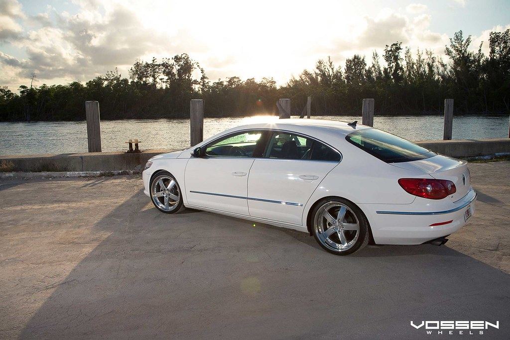 vw cc lowered on