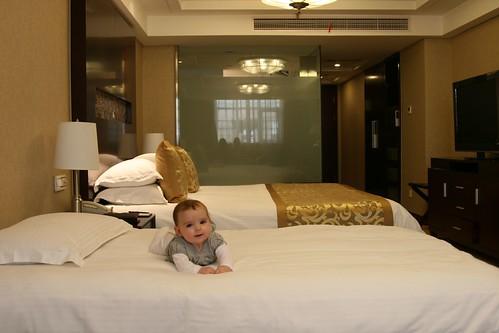 Chillin' in the hotel