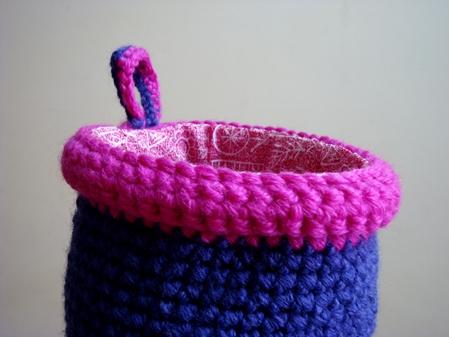Crochet - Mini Basket -FO3