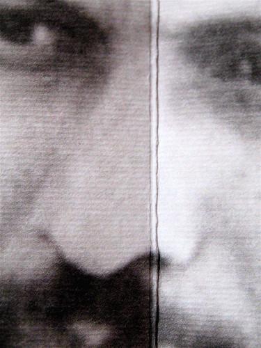 Percival Everett, Deserto americano, Nutrimenti 2009; art director: Ada Carpi; risvolto di cop. [ritratto fotog. b/n dell'autore, responsabilità non indicate] (part.), 1