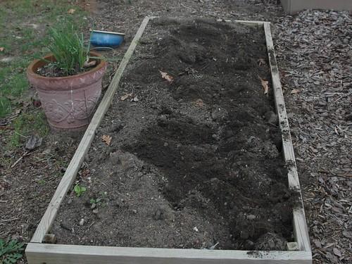 Original Garden bed reclaimed