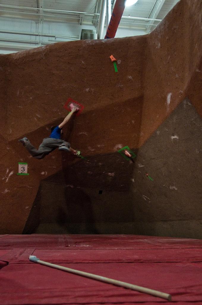 Chris flying on problem #3