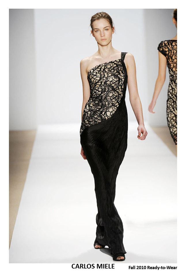 CARLOS MIELE FALL 2010 - SWEATER DRESSING