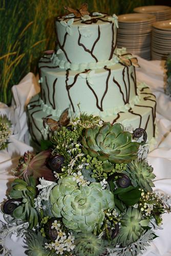 Wedding Weekend - Reception - Bouquet and Cake (By Deanna Felton)
