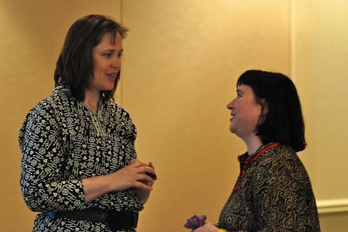Kami Huyse (@kamichat) & Beth Kanter (@kanter)