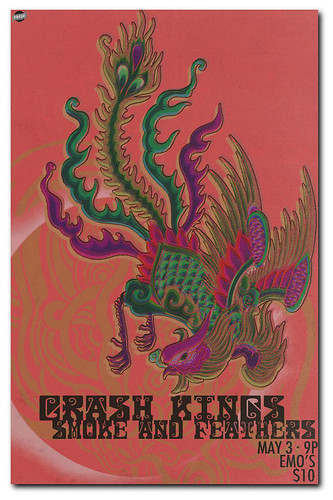 Smoke and Feathers with Crash Kings at Emo's