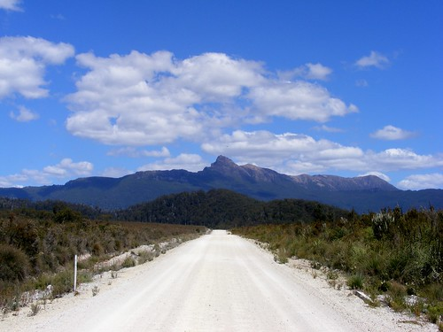 The Road to Mt. Anne