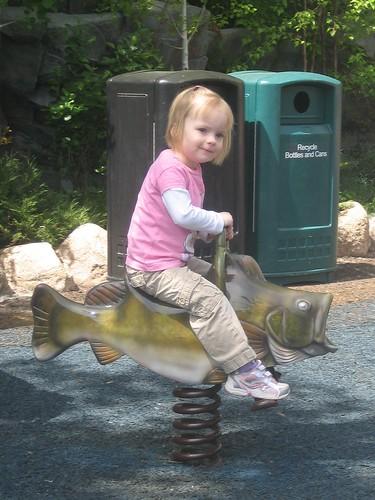 Riding a Trout