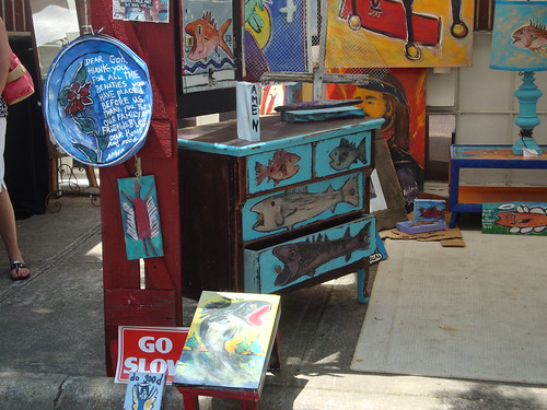 Art by She-She at Pepper Place Market, Birmingham AL